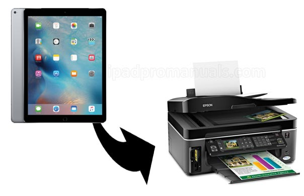 how to print from iPad Pro