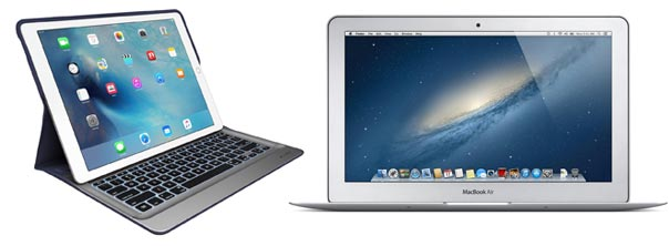 ipad pro or macbook air